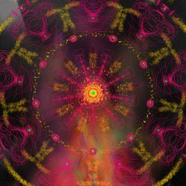 Mandala vibratoire, purification par le feu – Version numérique