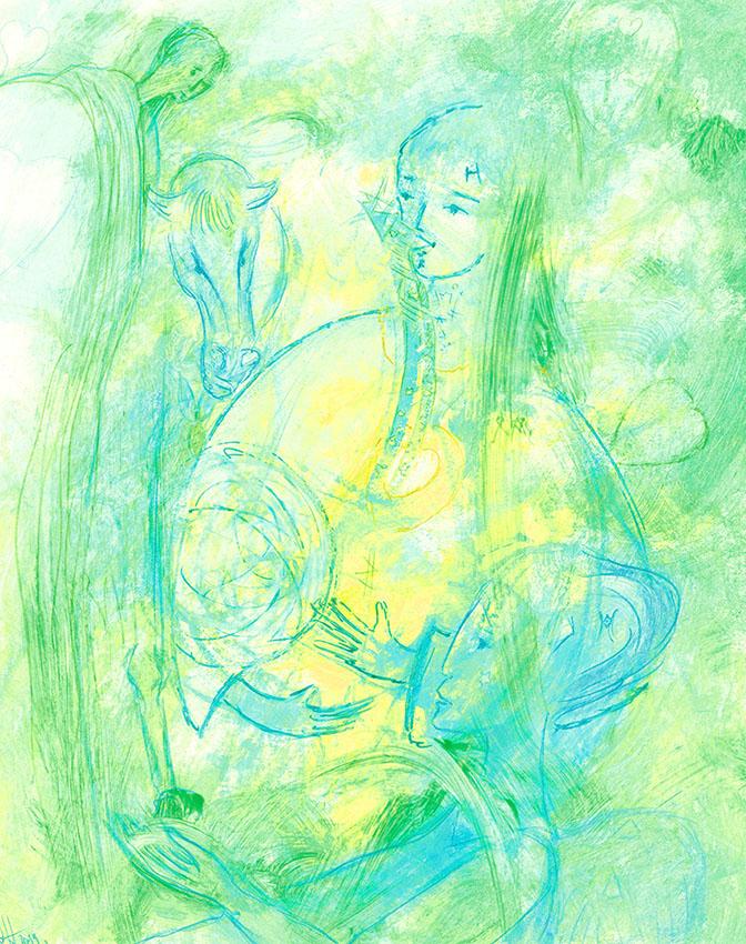 La Peinture Intuitive De Vos Guides Marianne Lemarchand Fr