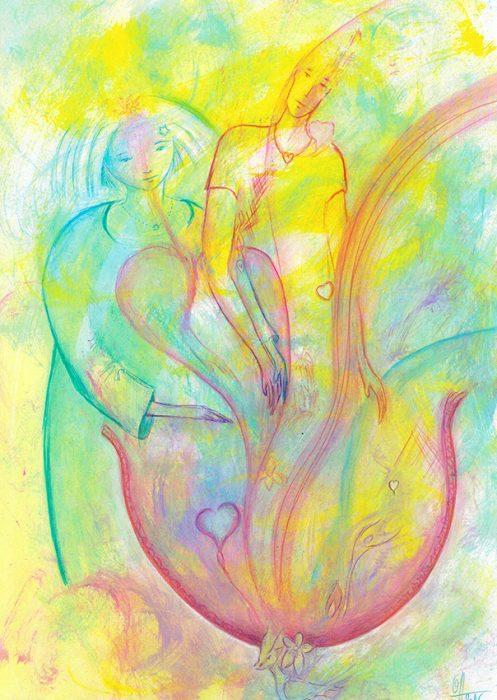 Guidance : Dans le chaudron de la création Principes yin-yang (ré)unis Dans un monde de tous les possibles.